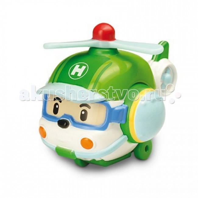 Вертолеты и самолеты Робокар Поли (Robocar Poli) Вертолет Хэли 6 см robocar игрушка металл машина марк поли 6 см robocar
