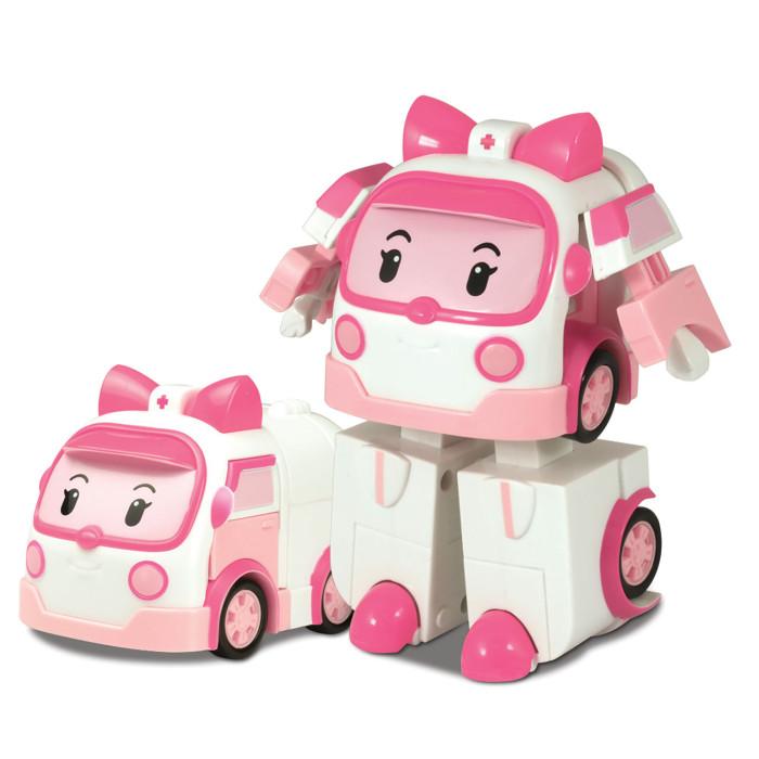 Машины Робокар Поли (Robocar Poli) Машинка скорой помощи Эмбер трансформер 10 см robocar игрушка металл машина марк поли 6 см robocar