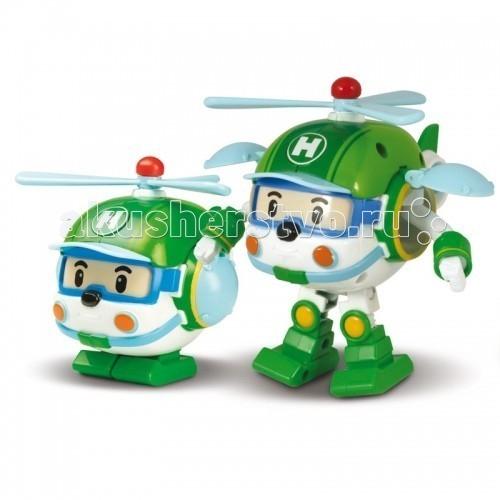 Купить Вертолеты и самолеты, Робокар Поли (Robocar Poli) Вертолет Хэли трансформер 10 см