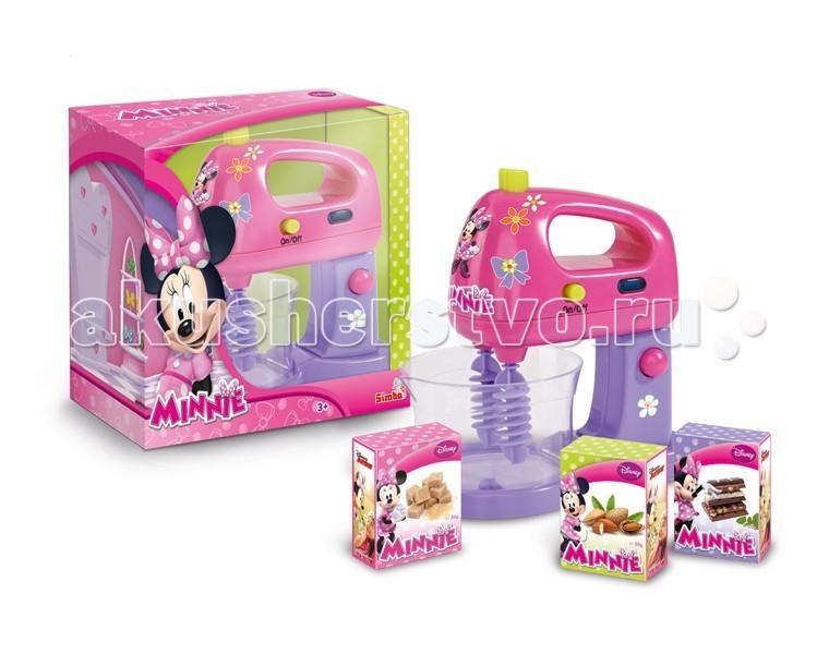 Ролевые игры Simba Кухонный комбайн Minnie Mouse simba тостер minnie mouse 19 см