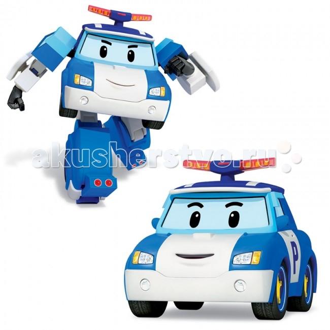 Купить Роботы, Робокар Поли (Robocar Poli) Робот Полицейская машина Поли трансформер 10 см