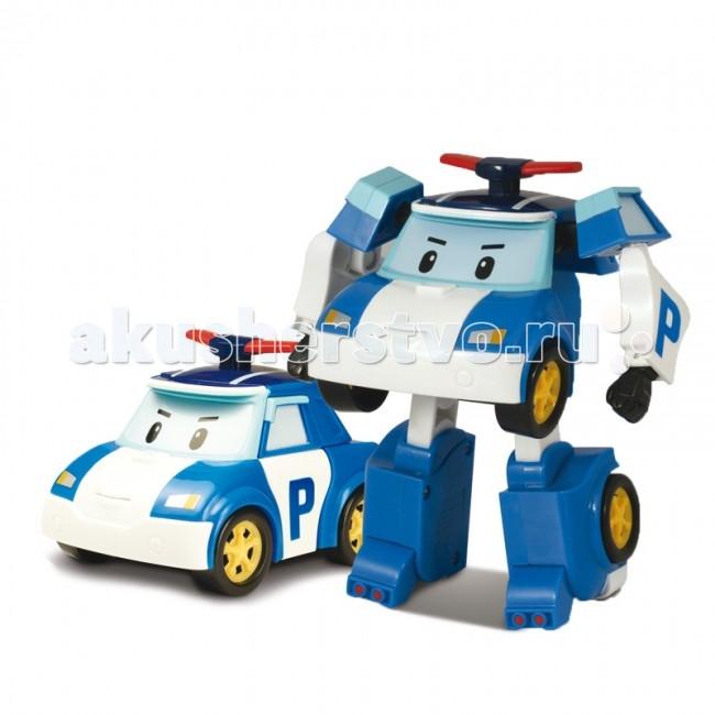 Роботы Робокар Поли (Robocar Poli) Полицейская машина Поли трансформер 7,5 см robocar игрушка металл машина марк поли 6 см robocar