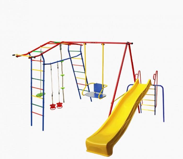 Спортивные комплексы КМС Детский комплекс Игромания дачный с горкой КМС-420