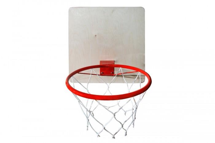 Спортивный инвентарь КМС Кольцо баскетбольное с сеткой d 38 см