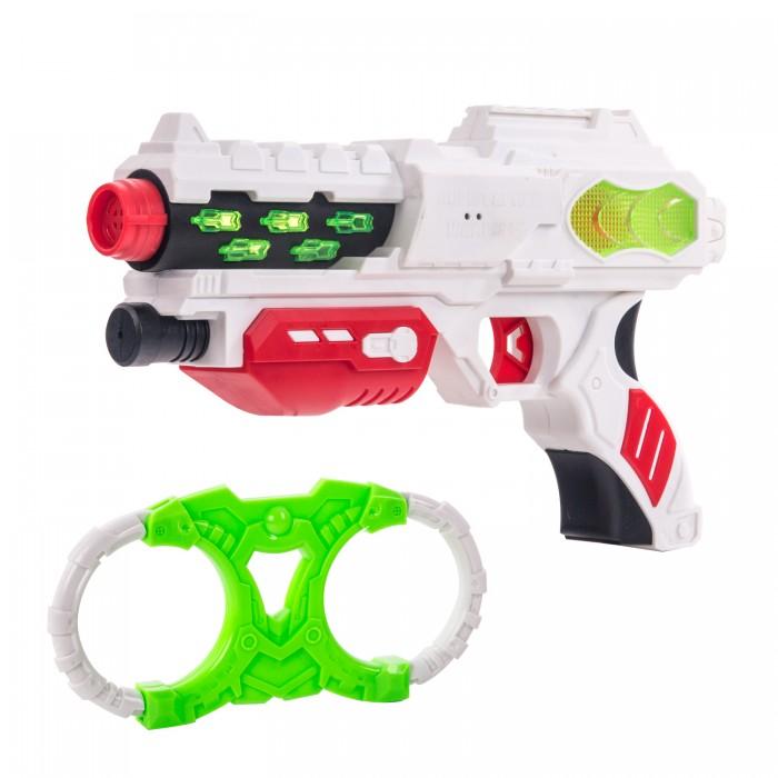 Fun Red Набор бластер с наручниками со звуком и светом