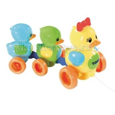 Подробнее о Каталки-игрушки Tomy Веселая Утиная семейка статуэтка веселая семейка 24 х13х34см