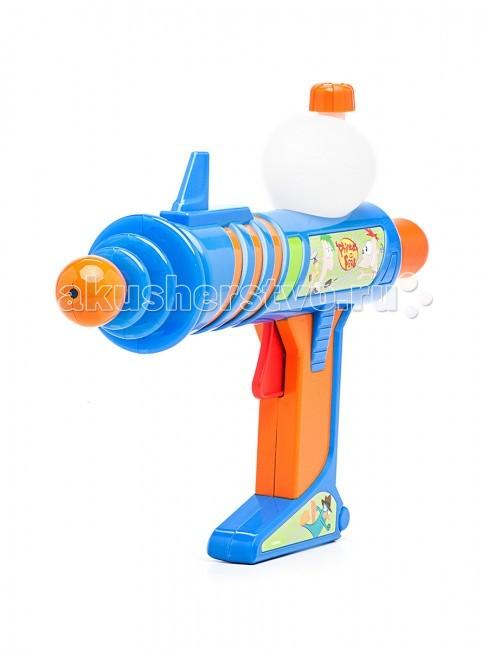 Игрушечное оружие Simba Водное оружие Финнес и Ферб 30 см игрушечное оружие simba водный пистолет toy story 42 см