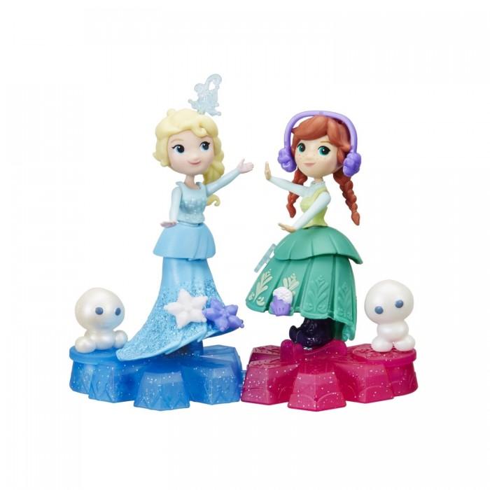 Disney Princess Холодное сердце Маленькая кукла на движущейся платформе-снежинке от Disney Princess