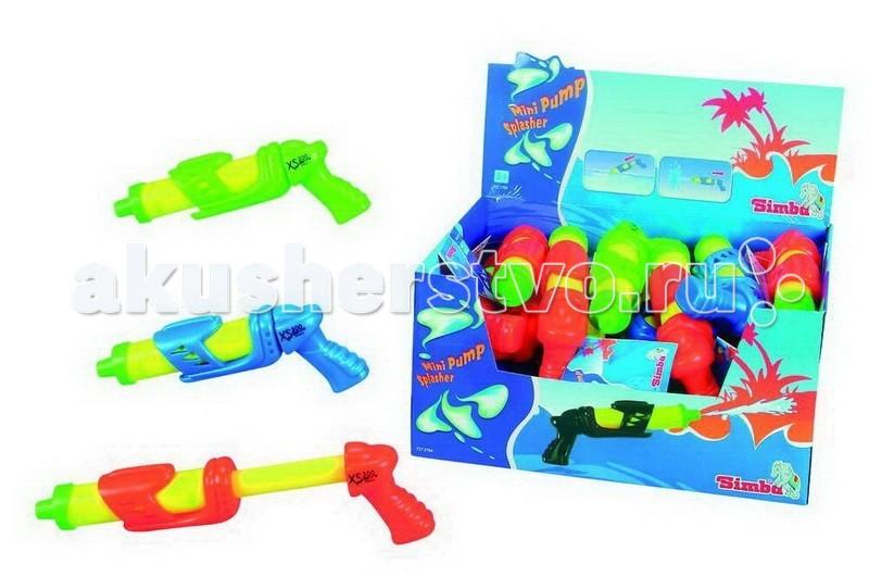 Игрушечное оружие Simba Водный пистолет Мини-помпа 24 см игрушечное оружие simba водный пистолет toy story 42 см