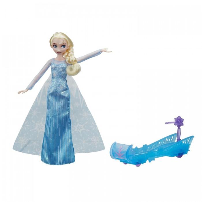 Disney Princess Кукла Эльза и санки