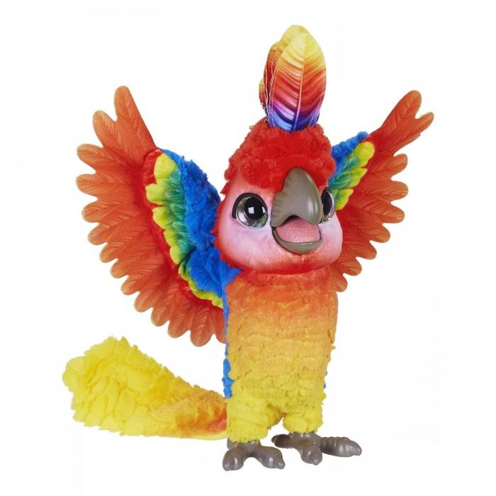 Купить со скидкой Интерактивная игрушка FurReal Friends Попугай Кеша поющий артист