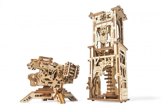 Купить Конструкторы, Конструктор Ugears 3D-Пазл Башня-аркбаллиста 292 детали
