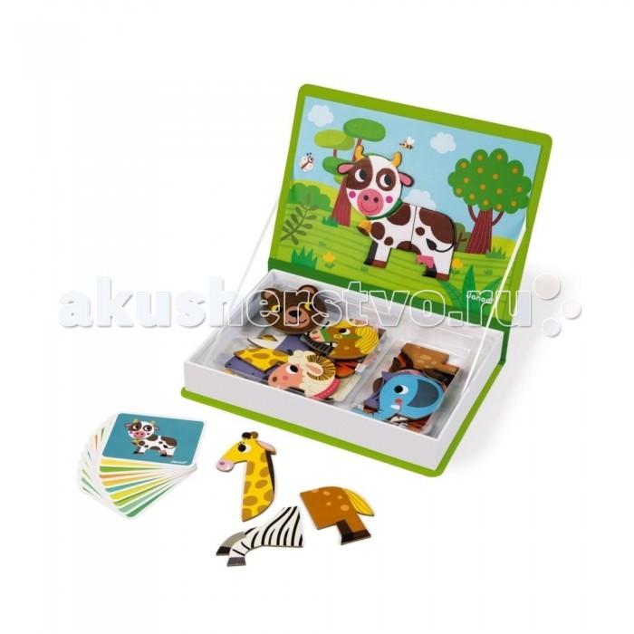 Janod Книга-игра Животные магнитная фото