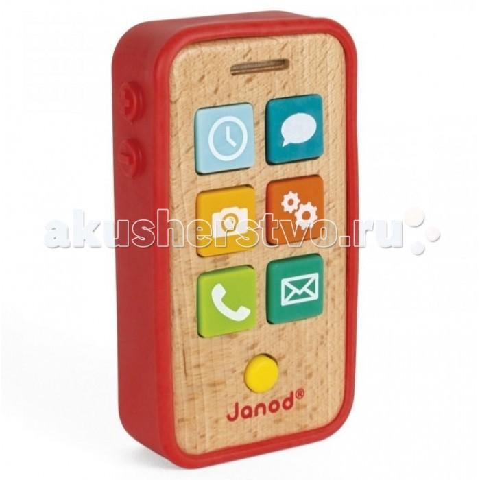 Электронные игрушки Janod Игрушка Смартфон музыкальная смартфон