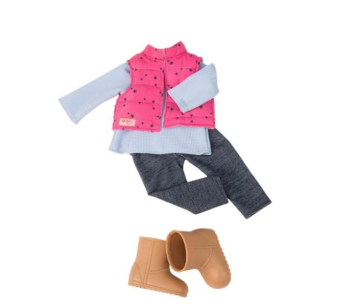 Our Generation Dolls Комплект одежды с дутой жилеткой и джеггинсами