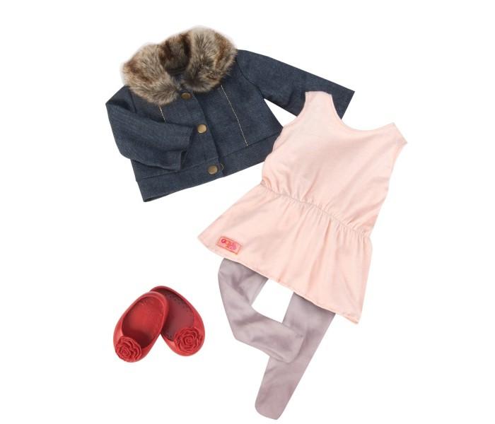 Куклы и одежда для кукол Our Generation Dolls Комплект одежды с джинсовой курточкой