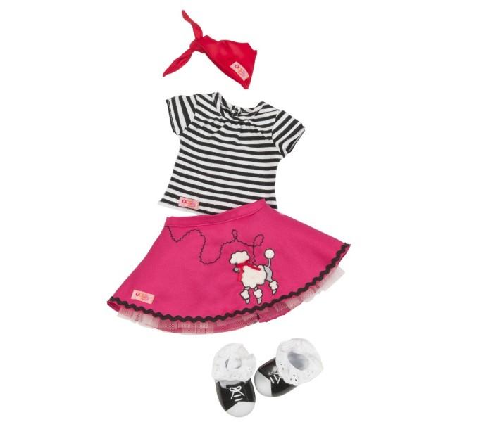 Our Generation Dolls Комплект одежды с юбкой с пуделем фото