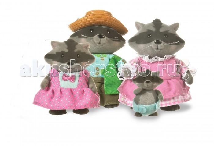 Фото - Игровые наборы Lil Woodzeez Набор игровой Семья енотов игровые наборы lil woodzeez набор игровой семья коал