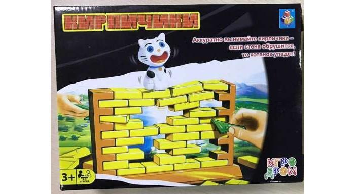 Настольные игры 1 Toy Игра настольная Кирпичики настольная игра лигретто зеленый