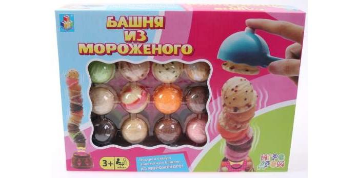 Фото - Настольные игры 1 Toy Игродром Игра настольная Башня из мороженого настольная игра 1 toy игродром логические опыты