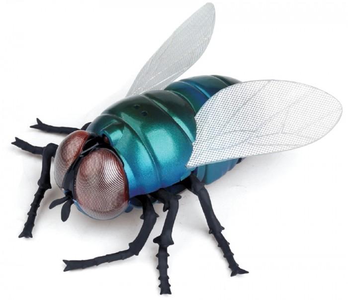 Роботы 1 Toy Робо-муха на ИК управлении роботы ocie робо ящерица с ик управлением