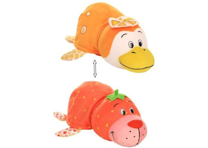 Мягкая игрушка 1 Toy Вывернушка Морской котик и Пингвинчик с ароматом газировки 35 см
