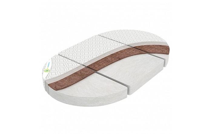 Матрас Топотушки Олимпия для круглой и овальной кроватки
