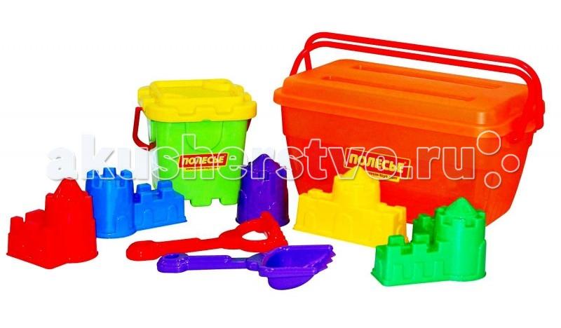 Летние товары , Игрушки в песочницу Wader Набор для песочницы в контейнере 500 арт: 62138 -  Игрушки в песочницу