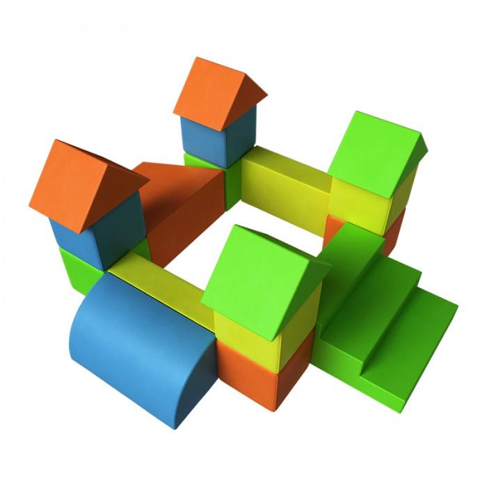 Romana Форт ДМФ-МК-17.07.02Мягкие модули<br>Romana Форт ДМФ-МК-17.07.02 яркий и красочный, может использоваться, как элемент полосы препятствий для развития у детей моторных навыков, уверенности в своих действиях и концентрации внимания. Выполнен из мягких модулей - очень легких и безопасных. Они практичны, многофункциональны, долговечны, изготовлены из экологически чистых и гигиеничных материалов. Модульная структура, яркие расцветки открывают простор для творчества и игр детей. Предназначены для развития внимания, памяти, образного, пространственного и логического мышления. Учат детей познавать цвет, форму, величины, время и взаимодействию между собой в процессе игры. В тоже время мягкие модули хорошо выдерживают нагрузку, не теряя при этом своей первоначальной формы, легко моются с помощью обычных моющих гигиенических средств. Не впитывают влагу и не имеют запаха, отличаются повышенными прочностными свойствами и долговечностью.   Материал: поролон, винилискожа Габариты (ДхШхВ): 1,50х1,25х0,71 м Количество элементов: 17 Треугольник 346х177х250 мм  - 4 шт Куб 250х250 х250 мм  - 8 шт Трапеция 500х500х250 мм  - 1 шт Прямоугольник 500х250х125 мм  - 2 шт Ступень 500х500х250 мм  - 1 шт Полуцилиндр 500х250х250 мм  - 1 шт Вес: 10 кг Упаковка: полиэтилен  Вся продукция Romana изготовлена исключительно из сертифицированных, долговечных и износостойких материалов, что гарантирует и максимальный ресурс, который необходим спортивным атрибутам, и безвредность для организма. Компания Romana с радостью поможет сделать детство и спорт эффективным и приятным!