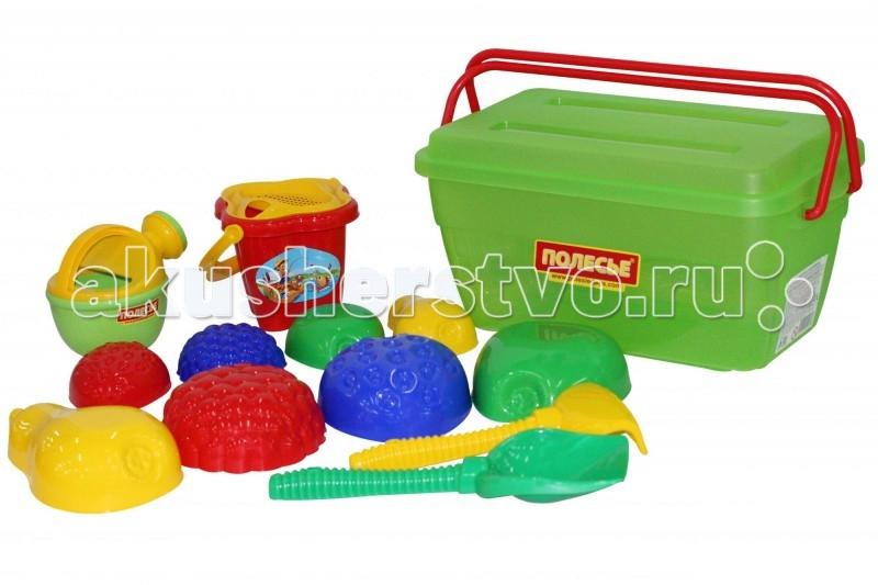 Wader Набор для песочницы в контейнере 501