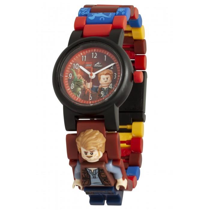 Часы Lego Jurrasic World Наручные аналоговые Fallen Kingdom с минифигурой Owen