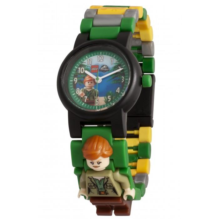 Часы Lego Jurrasic World Наручные аналоговые Fallen Kingdom с минифигурой Claire
