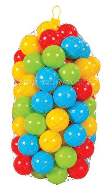 шары для сухого бассейна pilsan в пакете сумке Сухие бассейны Pilsan Шарики для сухого бассейна 7 см 100 шт.