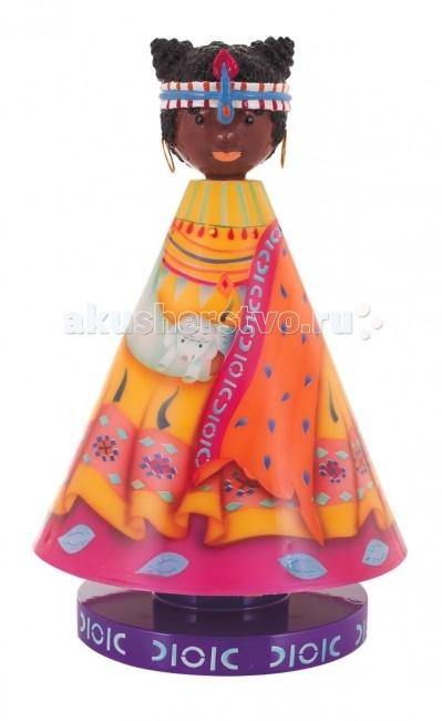 L'oiseau Bateau Музыкальная фигурка Принцесса МасаиМузыкальная фигурка Принцесса МасаиМузыкальная фигурка Принцесса Масаи станет прекрасным украшением детской комнаты.   Каждая деталь выполнена французскими ремесленниками вручную.  Размер: 18 см Д х 30 см В  Материал: корпус изготовлен из пластика, нижняя часть выполнена из дерева.<br>