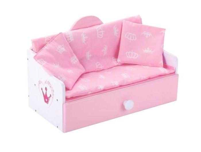 Кроватка для куклы Mary Poppins Софа Корона