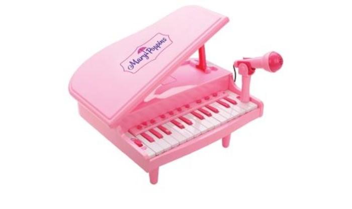 Купить Музыкальные инструменты, Музыкальный инструмент Mary Poppins СинтезаторВолшебный рояль с микрофоном