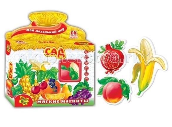 Раннее развитие Vladi toys Игра магнитная Сад набор для творчества тм vladi раскраски глиттером сова