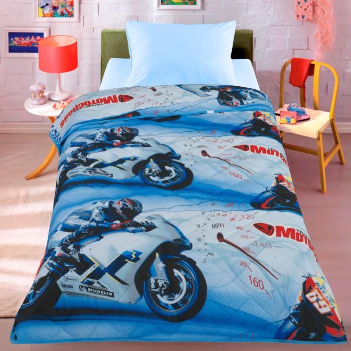 Одеяло Letto Покрывало Мотокросс 140х200 см
