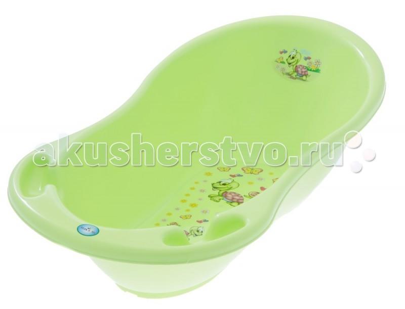 Детские ванночки Tega Baby Ванночка для купания Веселая черепаха 86 см