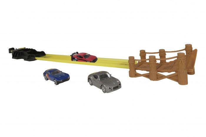Купить Машины, HTI Трек Teamsterz Канатный мост с 3-мя машинками