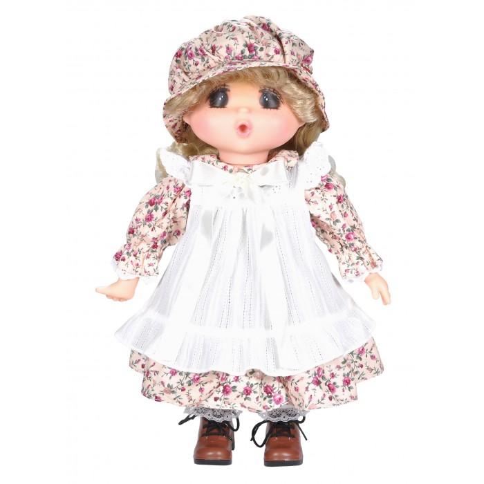 Lotus Onda Кукла Мадемуазель Gege 38 см 14035Куклы и одежда для кукол<br>Lotus Onda Кукла Мадемуазель Gege 38 см 14035 - очаровательная малышка с черными нарисованными глазками, кругленьким носиком, веснушками на щечках. Ротик у малышки открыт, так как она очень любит сосать пальчик.  У куколки прошитые волосы, поэтому их можно мыть, расчесывать.  Одежда в винтажном стиле легко снимается, на ножках пластмассовые туфельки.