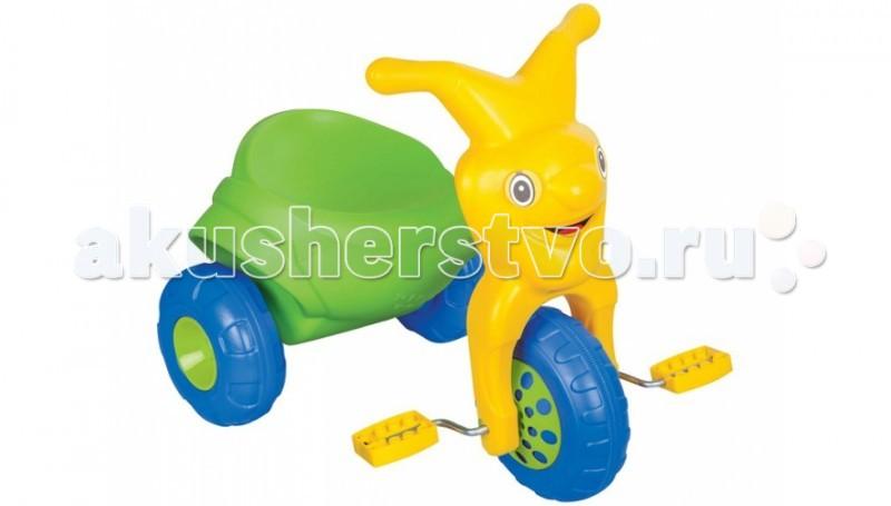 Велосипед трехколесный Pilsan ClownClownВелосипед трехколесный Pilsan Clown в коробке с педалями на переднем колесе. Глубокое сиденье создает необходимые уровень комфорта ребенка и не позволяет ему случайно упасть. Руль выполнен в форме лица клоуна.  Велосипед лучше всего подходит для коротких прогулок с ребенком на детской площадке и во дворе дома.  Способствует развитию опорно двигательного аппарата ребенка, укреплению суставов и координации в пространстве.<br>