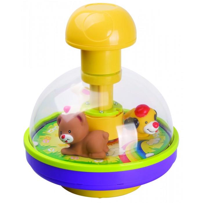 Развивающая игрушка Red Box Волчок с веселыми зверятами