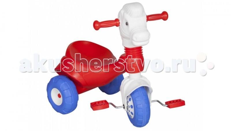Велосипед трехколесный Pilsan Pony 07 149Pony 07 149Велосипед трехколесный Pilsan Pony в коробке с педалями на переднем колесе. Глубокое сиденье создает необходимые уровень комфорта ребенка и не позволяет ему случайно упасть.  Максимальный вес ребенка не должен превышать 50 кг.  Велосипед лучше всего подходит для коротких прогулок с ребенком на детской площадке и во дворе дома.  Способствует развитию опорно двигательного аппарата ребенка, укреплению суставов и координации в пространстве.<br>