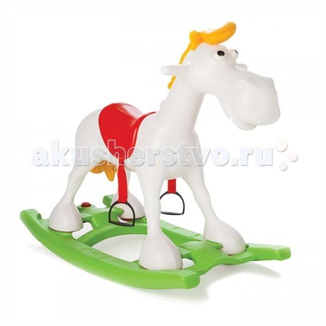 Каталка Pilsan качалка Лошадь Luckyкачалка Лошадь LuckyКаталка Pilsan качалка Лошадь Lucky - очаровательная лошадка имеет надежные боковые ручки, за которые малыш будет держаться и стремена предназначенные для ног.   Максимально безопасный диапазон качания не позволит малышу сильно раскачаться и перевернуться. Есть возможность отсоединения качалки.  Максимальная грузоподъемность 25 кг.<br>