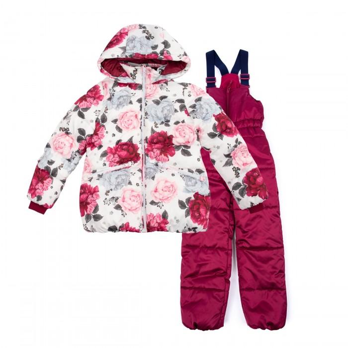 Купить Зимние комбинезоны и комплекты, Playtoday Комплект для девочек Сверкающий шик 388101