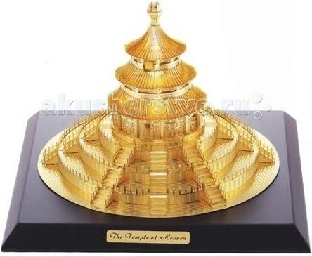 Картинка для Конструктор Tucool 3D паззл-конструктор из металла Храм Неба