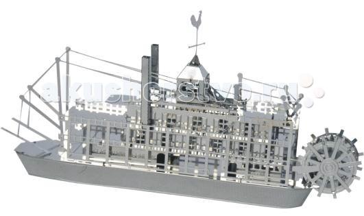 Конструкторы Tucool Мини 3D паззл из металла Теплоход