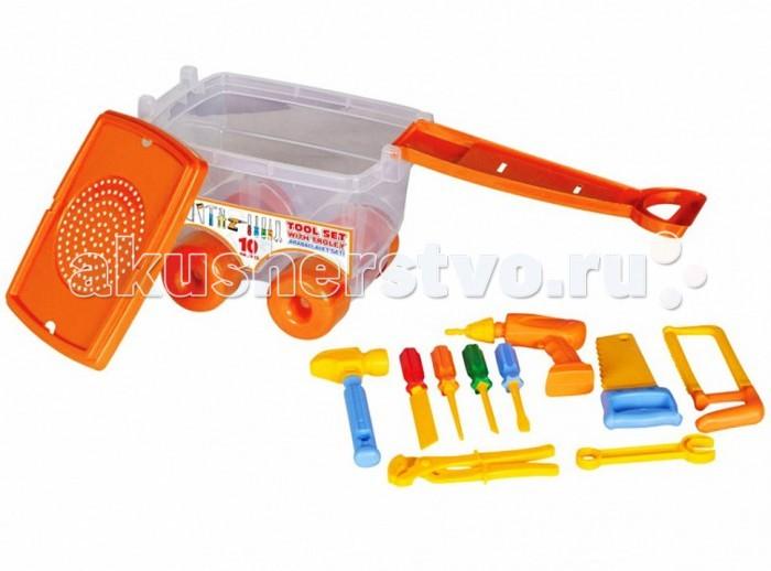 Ролевые игры Pilsan Набор Инструментов Tool Set в тележке pilsan игровой набор инструменты tool set в тележке