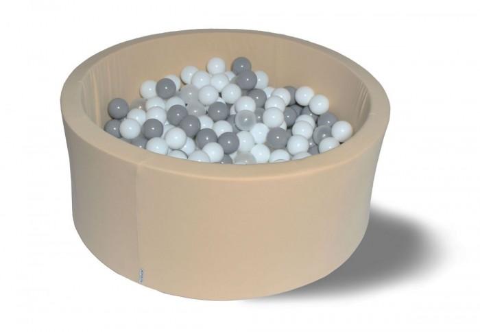 Hotenok Сухой бассейн Жемчужный снег 40 см с комплектом шаров 200 шт.